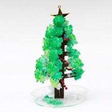 2017 Magical Grow Christmas Trees Magic Growing Paper Tree Arvore Magica Regalos Magicos Arbre Magique Kids Toys For Children