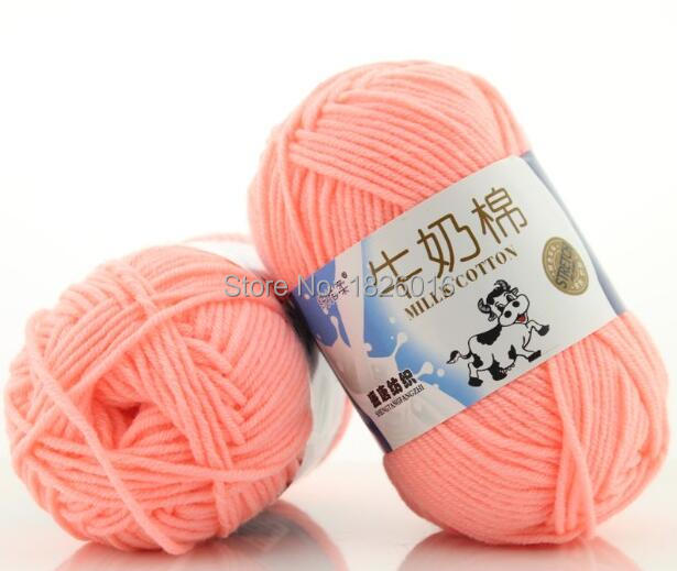 Zengia 1pc Crochet Yarn Milk Cotton Knitting Yarn Soft Warm Baby Yarns For Hand Knitting/Crochet Supplies 50g/pc
