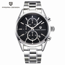 Real Men Watches Diver 30M Fashion Casual Quartz Stainless Steel Reloj Hombre 2016 Top Brand Luxury Sports Pagani Design Clock