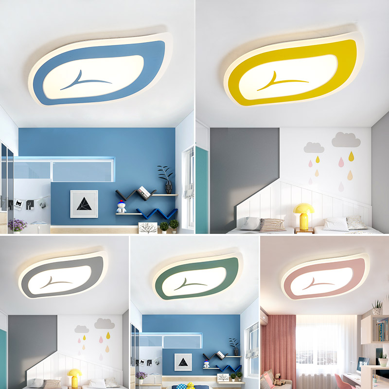цены New design Macarons color acrylic LED Ceiling Lights for Living room bed room study room ceiling lamp lamparas de techo abajur