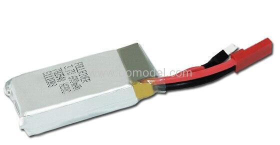 Walkera 3 7V 600MAH lipo font b battery b font for V120D02S Infra X W100 HM