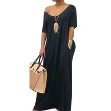 Летнее женское платье модное Клубное с v образным вырезом вечерняя