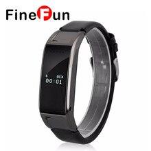 Finefun D8S Bluetooth Smart Часы Браслет Синхронизации SMS телефон Шагомер сна монитор Смарт часы Совместимость с прошивкой Android