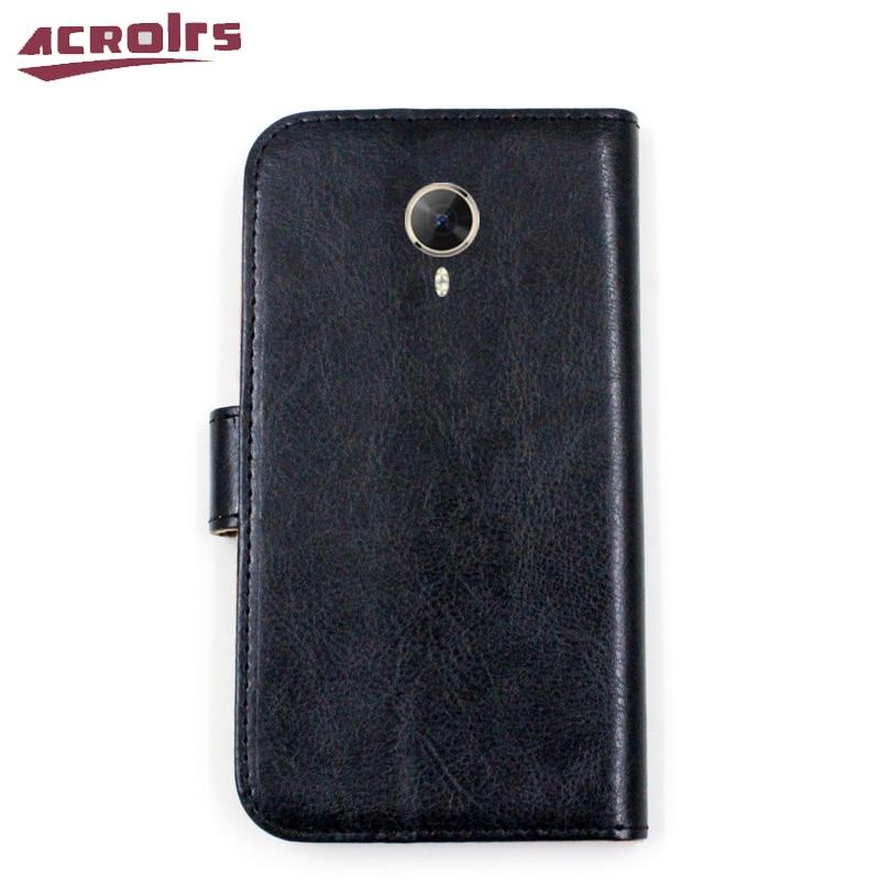 Lyxig PU-läderplånbok för General Mobile 5 Plus GM 5 Plus - Reservdelar och tillbehör för mobiltelefoner - Foto 2