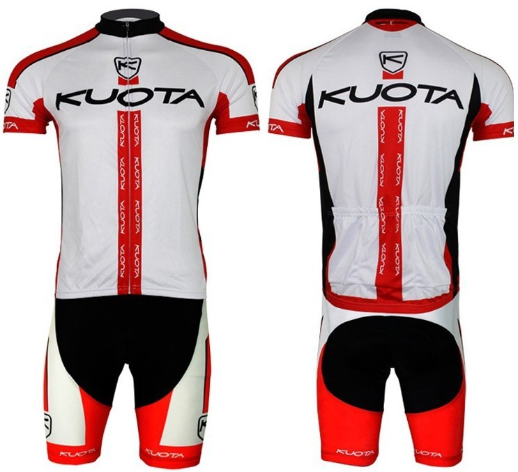 2013 Pro HQ!!! KUOTA red short sleeve cycling jersey wear clothes bicycle/bike/riding jersey+pants shorts arsuxeo breathable sports cycling riding shorts riding pants underwear shorts