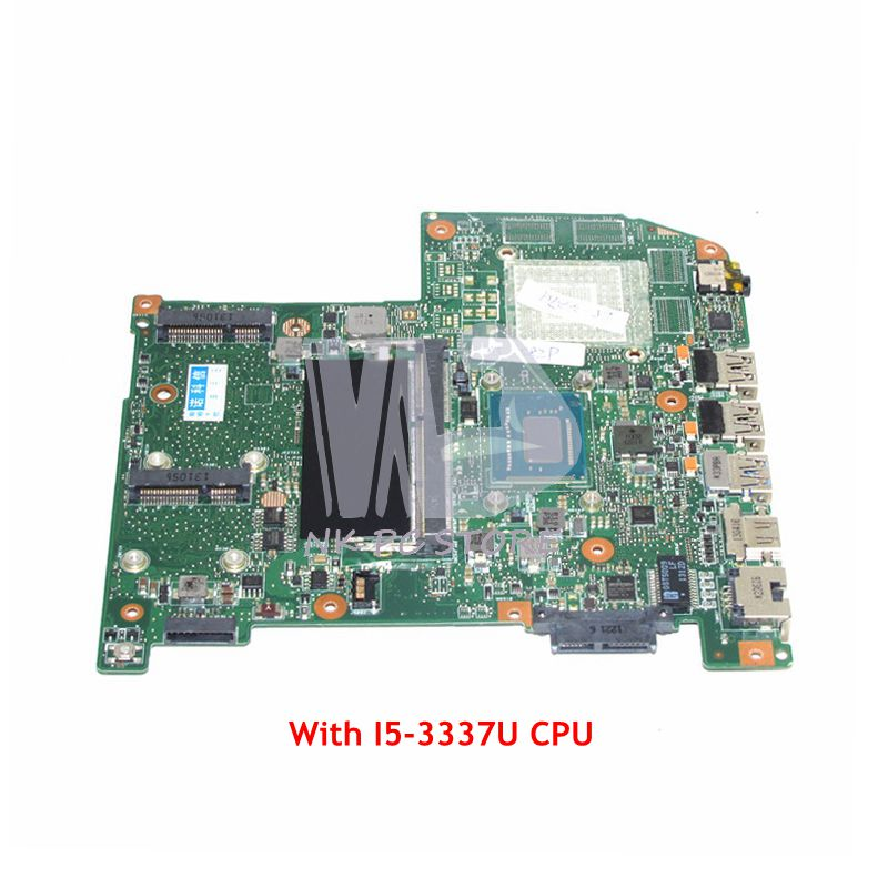NOKOTION NBM7F11001 NB.M7F11.001 For Acer aspire M5 582P M5 582PT Laptop Motherboard JM50 SR0XL I5 3337U CPU UMA DDR3