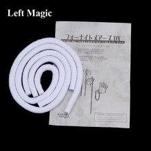 Tenyo-cuerda larga y corta para trucos de Magia, accesorios para trucos de Magia, escenario, Mentalism