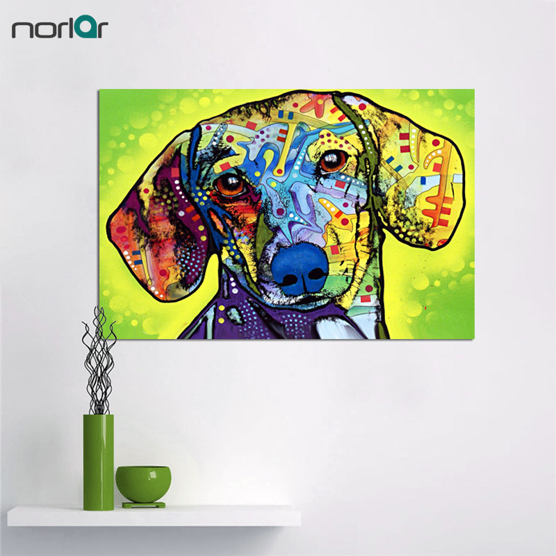 Dachshund Wall Art dachshund wall promotion-shop for promotional dachshund wall on