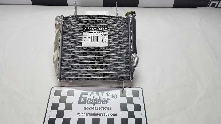 Алюминиевый радиатор GOLPHER для HONDA RS125 NX4 2004- #19010-NX4-860