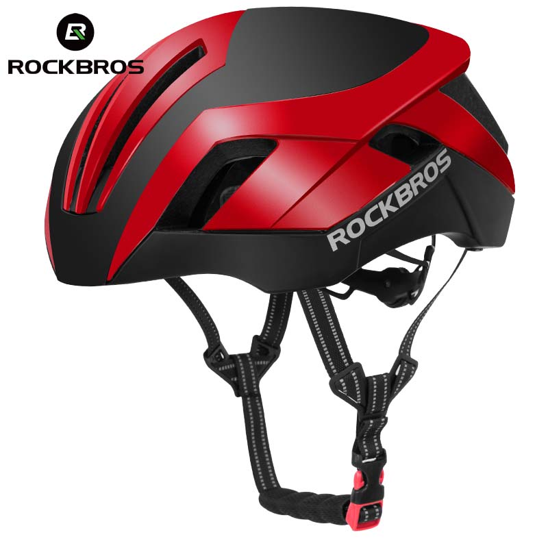 ROCKBROS Cycling Helmet 3 in 1 Bicycle Helmets Men Women Safety Helmet Integrally-molded Road Bike Helmet Casco Ciclismo rockbros cycling helmet eps reflective bike helmet 3 in 1 mtb road bicycle men s safety light helmet integrally molded pneumatic