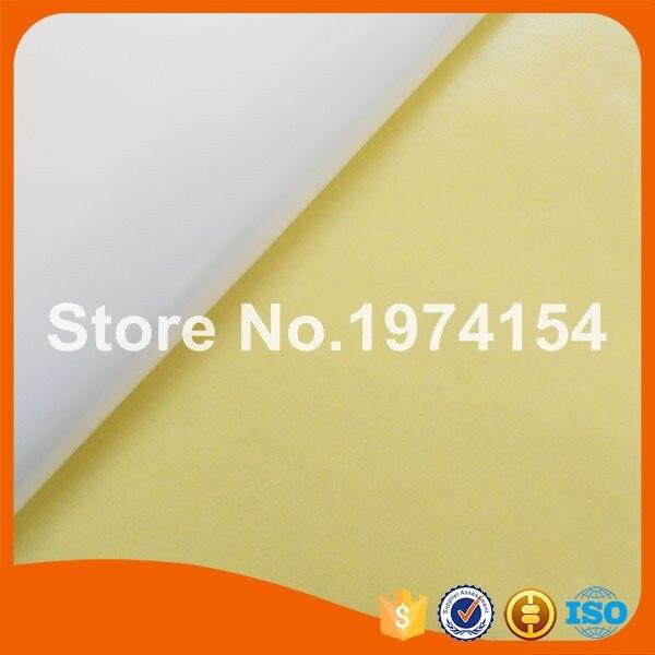 500 sheets A4 blank waterproof matte white vinyl label for inkjet printer