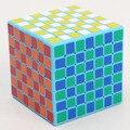 Nuevas Top Azul Shengshou 7x7x7 Magic speed Cube Puzzle 7-capas Rompecabezas Del Cubo de Velocidad de Aprendizaje Clásico y educación Juguetes Nave de La Gota