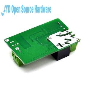 Image 2 - 1 sztuk 1 kanał New Arrival 1 sztuk zielony ESP8266 10A 220V przekaźnik sieciowy moduł WIFI wejście DC 7V ~ 30V 65x40x18mm moduły