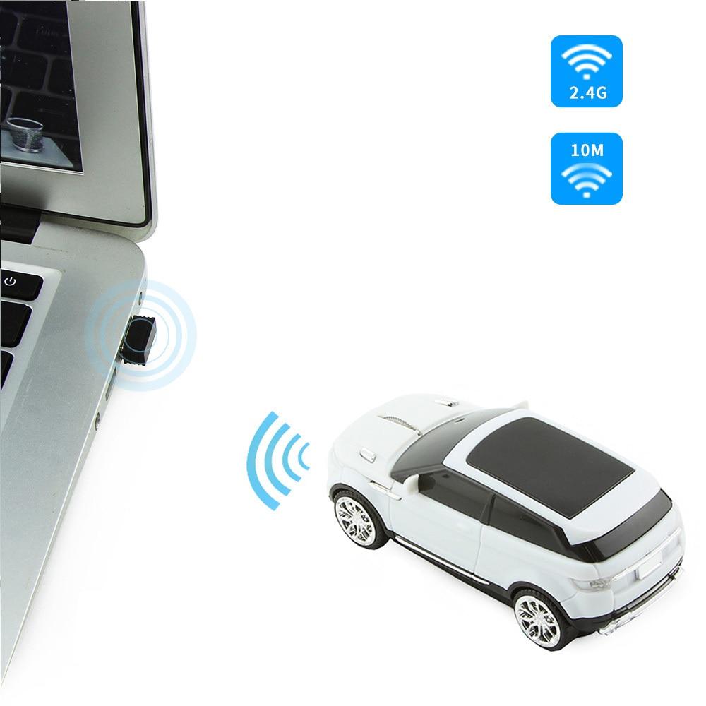 CHYI 2.4Ghz vezeték nélküli egér Gamer divat SUV sport autó - Számítógép-perifériák - Fénykép 5