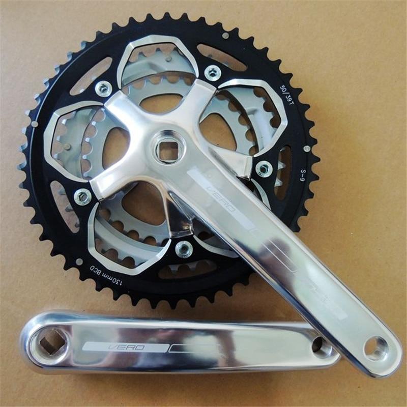 9 Speed Chainwheel Road bike folding bike 50 39 30 172 5mm 9 speed 50 Teeth