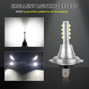 Image 4 - 2Pcs H7 LED Bulb Super Bright 12 3535SMD Car Fog Lights 12V 24V 6000K White Driving Day Running Lamp Auto Led H7 Bulb