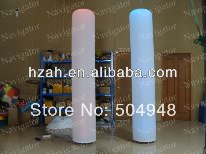 Columna de luz inflable de decoración