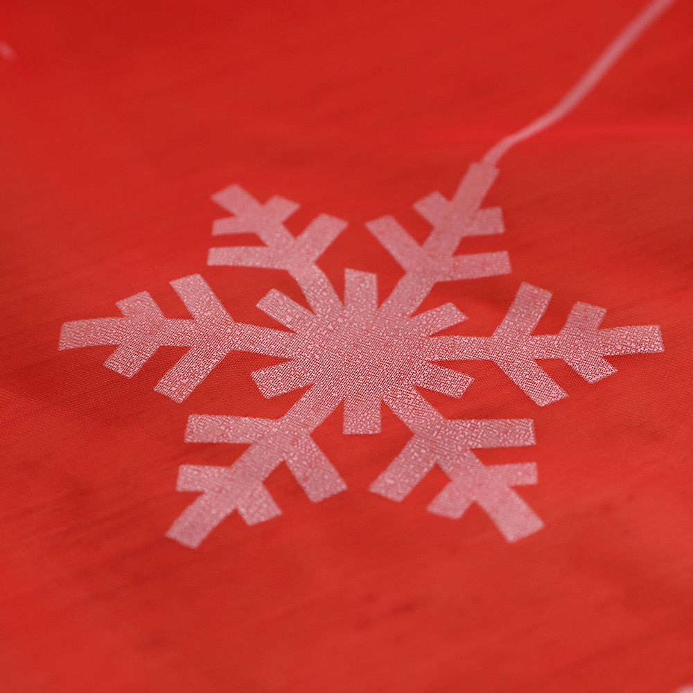Christmas Snowflake Curtain Window Treatment Voile Drape Valance 110x250cm