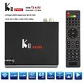 Original KII Pro DVB S2 DVB T2 + S2 Android 5.1 TV Box BT4.0 S905 Amlogic de Cuatro núcleos 2 GB/16 GB 2.4G/5G Wifi set top box Mini PC