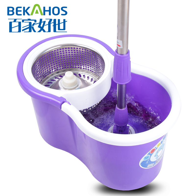 2014 New Hurricane 360 Spin Mop With Purple Mini Spinning