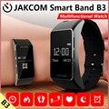 Jakcom b3 smart watch nuevo producto de pulseras como rastreador de ejercicios de frecuencia cardíaca resistente al agua inteligente talkband inteligente pulsera deporte