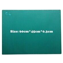 Pvc 커팅 매트 a2 60*45 cm gaodi 내구성 자기 치유 수제 diy 퀼트 액세서리 유연한 녹색 패치 워크 보드 플로터