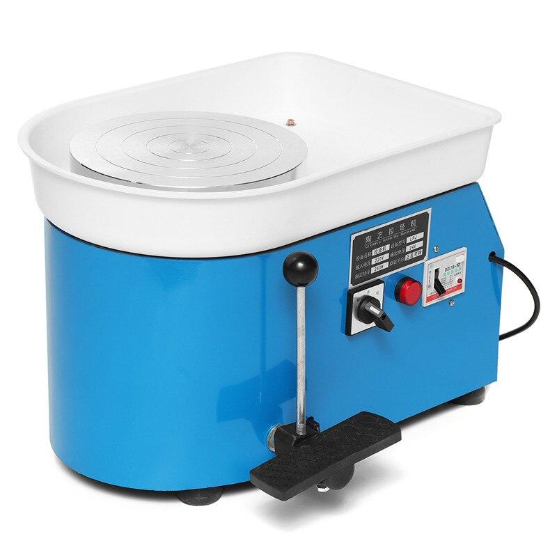 LBLA 1 предмет 250 Вт 220 В 25 см ЕС Plug электрический гончарный круг машина аксессуар Керамика керамика машина DIY глины инструмент