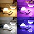 5 шт./лот  водонепроницаемые светодиодные лампы для вечеринок  светящиеся на воздушном шаре  светящиеся батареи  праздничные лампы для фонар...