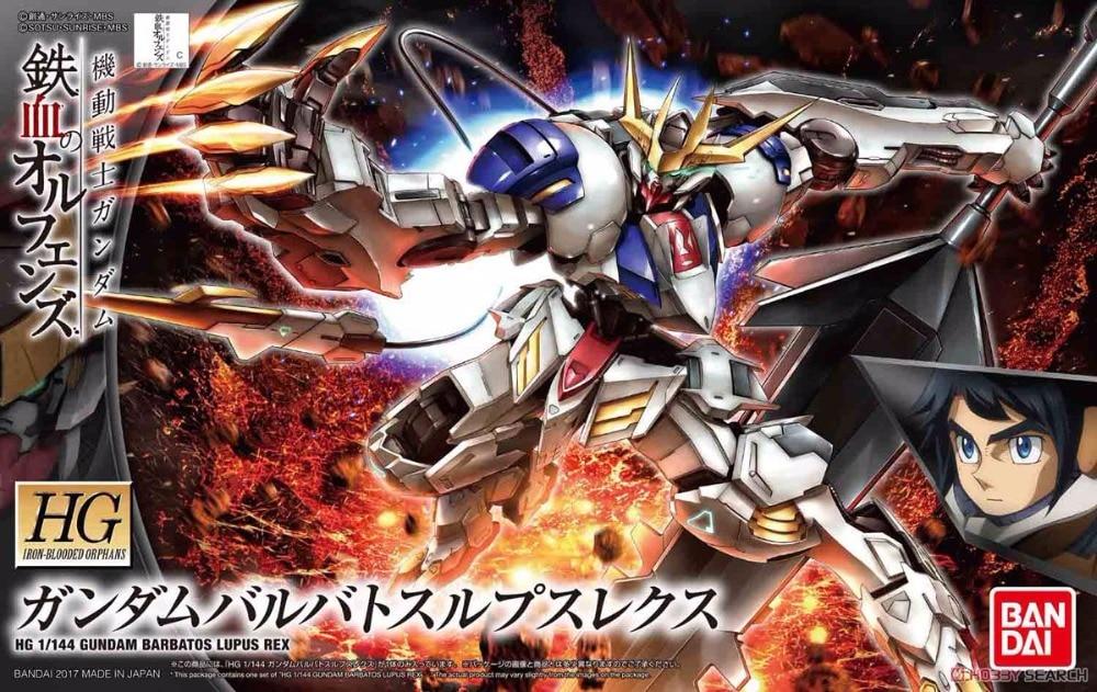 1PCS HG-IBO-033 ASW-G-08  Bandai HG Iron-Blooded Orphans 033 1/144 Gundam Barbatos Lupus Rex Mobile Suit Assembly Model Kits ноутбук msi ge62 7re 033 9s7 16j932 033 9s7 16j932 033