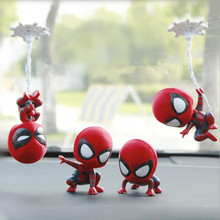Car Ornaments Shaking Head Doll Cute Decoration Automobile Interior Accessories