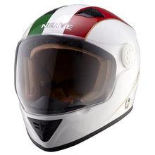 NERVE Motocicleta Moto capacete integral, fibra de vidro capacete de moto, equipamentos de proteção Motocross helm ECEscooter capacete