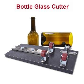 Neue Ankunft Glasflasche Cutter, Weinflasche Schneidwerkzeuge, Glas Schneiden Set Geschliffenem Glas Werkzeug Glas Messer + Ersatzmesser Kopf Heißer Verkauf