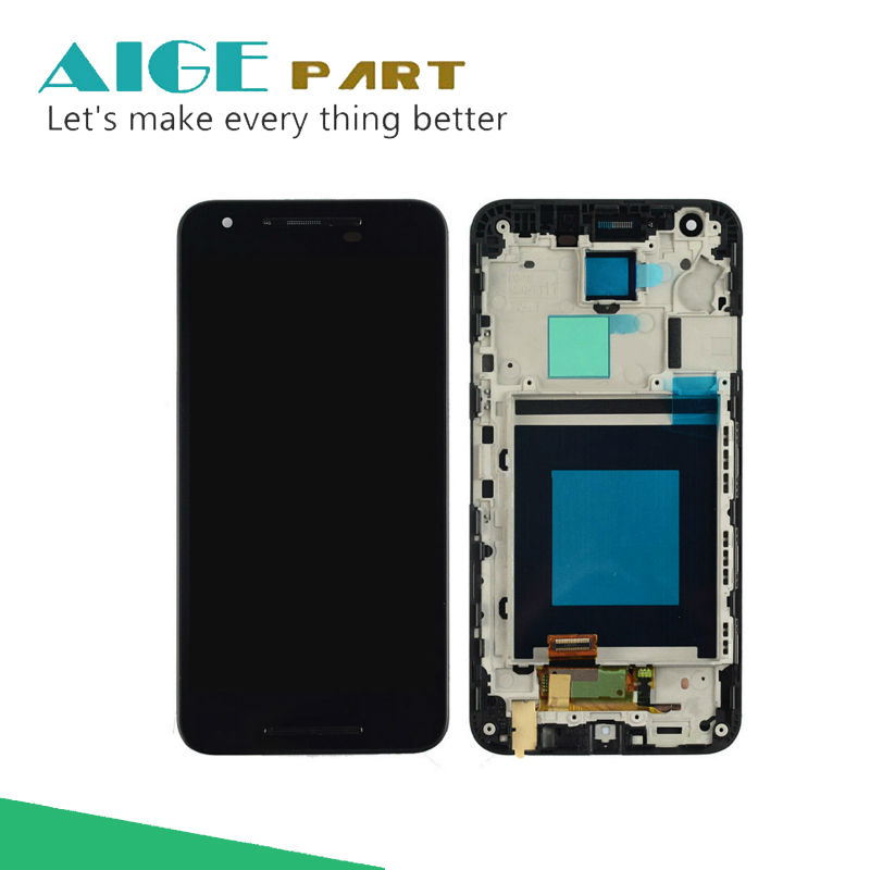 For LG Google Nexus 5X H791 H790 LCD Display Touch Screen Digitizer with Frame Assembly