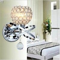 Nachttischlampe schlafzimmer modernen minimalistischen wohnzimmer wand kreative treppen einzigen kopf Kristall Licht Wandleuchten Rmy-0285