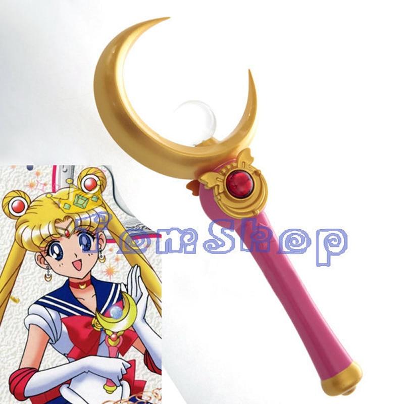 Anime marin lune Tsukino Usagi Proplica lune baguette magique bâton Deluxe édition Halloween Cosplay accessoires arme livraison gratuite