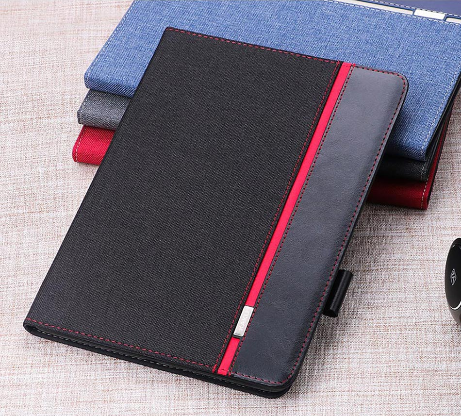Case For Ipad Mini 1 2 3 4 With Pencil Holder Leather Cotton Patchwork Smart Cover Stand Silicone For Ipad Mini Case Shockproof