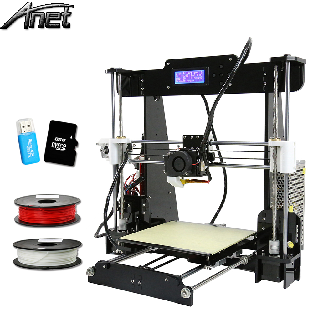 Профессиональный Анет A8 A6 3D-принтер Дешевые высокой точности RepRap Prusa i3 Desktop Z1 лазерный гравер 3D-принтеры нескольких языков