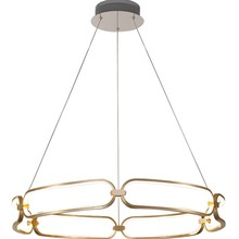 Modern Chandelier living room LED Luster Acrylic Lights Dining Room Bedroom Remote Dimming Chandeliers lamps Fixture