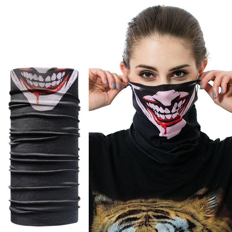 Мотоцикл маска Лето Балаклава маске Байкер двигателя лицо щит ветрозащитный Открытый маски шарф Велоспорт Аксессуары