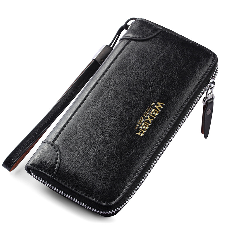 3ba24271667b US $15.67 |Fashion Phone Thin Travel Wallet Credit Cards Holder Clutch Male  Monedero Slim Purse Men Money Long Wallets Porte Carte-in Wallets from ...