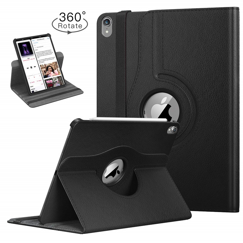 360-Degree Rotating-Leather Auto-Awake-Cover Funda Smart-Sleep Apple for iPad Case Coque