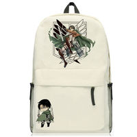 Anime Attack On Titian backpack Eren Levi printing book bag daily laptop for teens school backpack