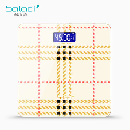 Multi-color optional bathroom floor scales smart household electronic scales bathroom digital body bariatric LED display 180kg