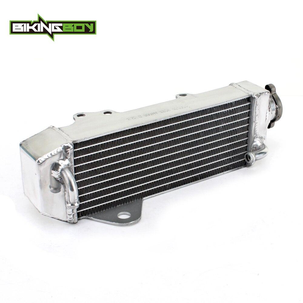 BIKINGBOY 1 PC Motocross ALU Cores Water Cooling Radiator For HONDA CR 80 CR 85 R 1997-2008 97 98 99 00 01 02 03 04 05 06 07 08