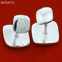 Designer Brand New Shirt Novelty Sterling Silver Men 925 Cufflinks Shirts Haricots High Quality Jewelry Gift
