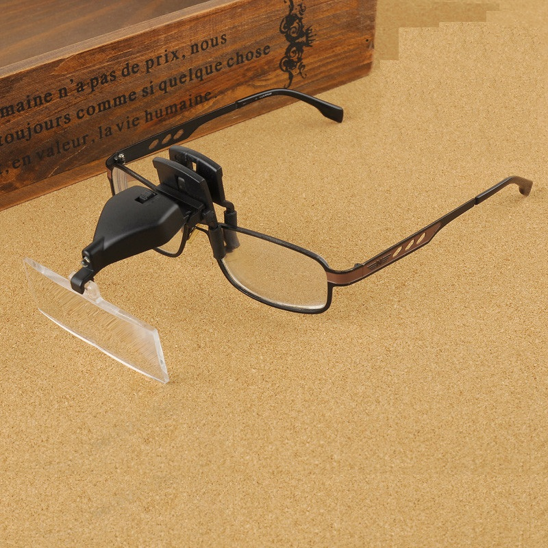 1.5X 2.5X 3.5X daugialypiai apšviečiami akinių stiklo didintuvai - Matavimo prietaisai - Nuotrauka 3
