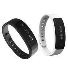 Водонепроницаемый Bluetooth 0.86 дюйма OLED Смарт-часы удаленного Камера Sleep Monitor шагомер будильник для Android IOS браслеты