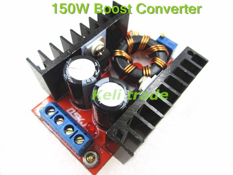 TIEGOULI 10pcs lot Retail Wholesale 150W Boost Converter DC DC 10 32V to 12 35V Step