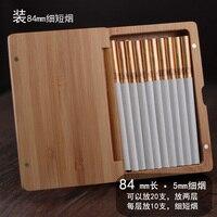 84mm Handmade Wooden Cigarette Box Men And Women Cigarette Cases Gift