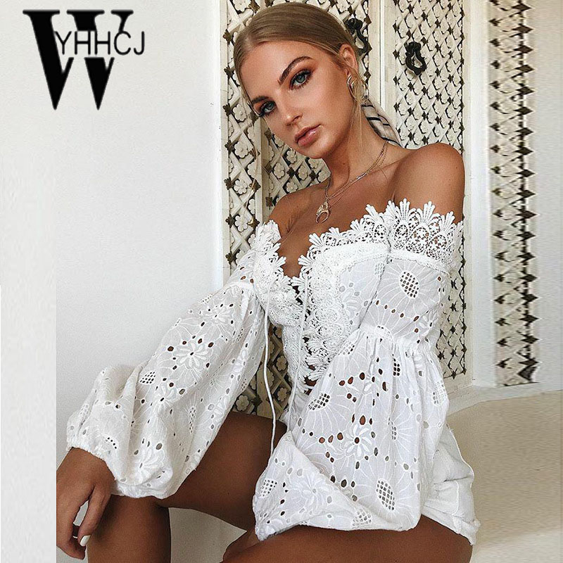 WYHHCJ 2018 sexy backless women t shirt lantern long sleeve crop top summer tshirt bodycon patchwork hollow out lace up t shirt